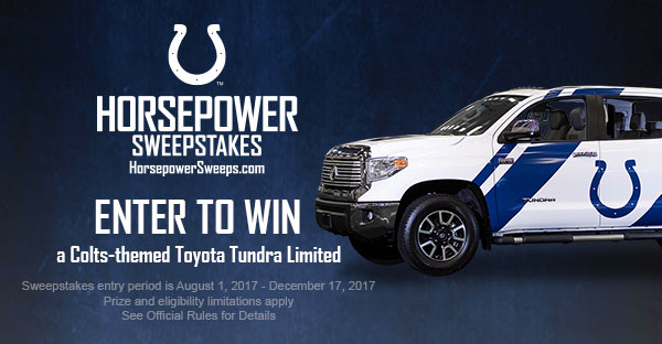 Enter to Win Horsepower