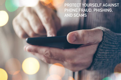 PROTECTING From Phone Scams image