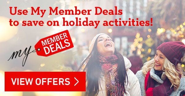 Holiday Member Benefits